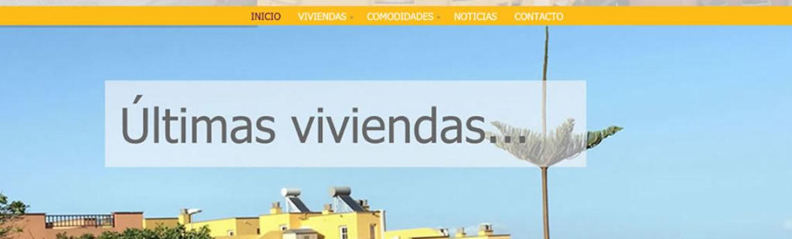Web para Urbanización Jardines de Geneto